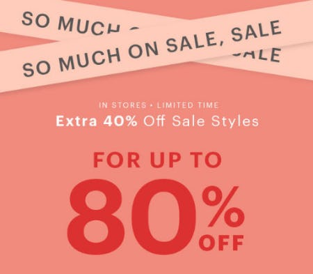 Extra 40% Off Sale from Charlotte Russe