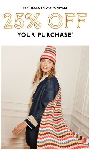 25% Off Black Friday Sale from Madewell