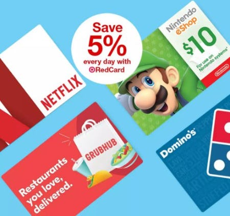 Save 5% Every Day with RedCard from Target