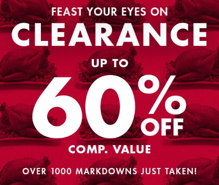 Clearance Up to 60% Off from DSW Shoes