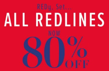 All Redlines Now 80% Off from New York & Company