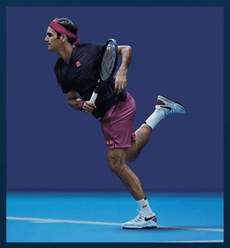 New Roger Federer Styles Are In from Uniqlo