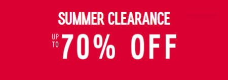 Up to 70% Off Summer Clearance from Express