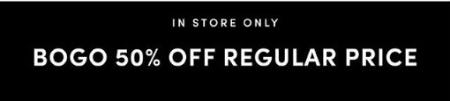 BOGO 50% Off Regular Price from Torrid