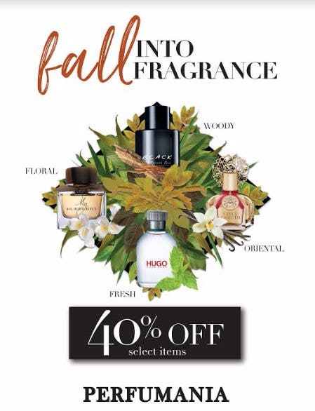 FALL INTO FRAGRANCE