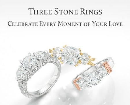 Discover The Three Stone Rings from Zales The Diamond Store