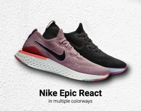 a6eda4b85044 ... Lady Foot Locker. New Release  Nike Epic React
