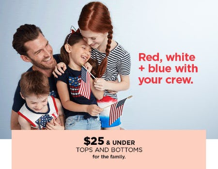 $25 & Under Tops and Bottoms from Kohl's