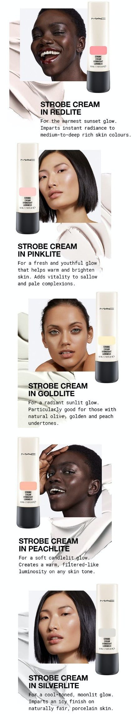 Your Perfect Strobe Cream Shade from MAC Cosmetics