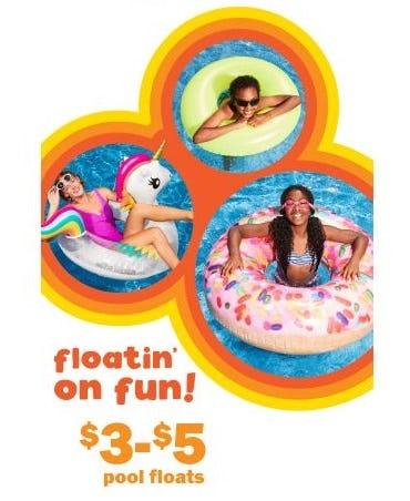 $3–$5 Pool Floats from Five Below