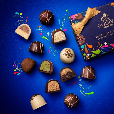 Taste the Fun this fall! from Godiva Chocolatier