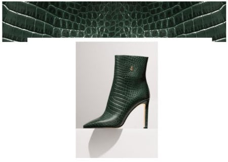 Trending Now: Mock Croc from Jimmy Choo