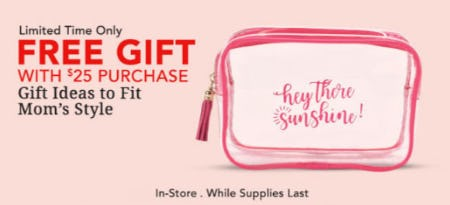 Free Gift with $25 Purchase