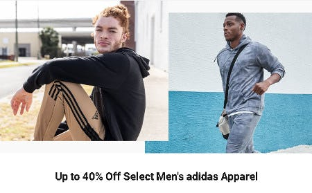 Up to 40% Off Select Men's adidas Apparel from Dick's Sporting Goods