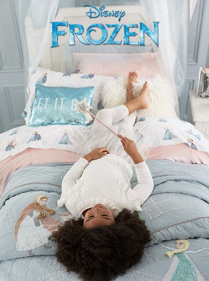 Our Frozen Collection is Here from Pottery Barn Kids