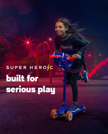 Super Heroic: Bring Out Your Inner Superhero from Kids Footlocker