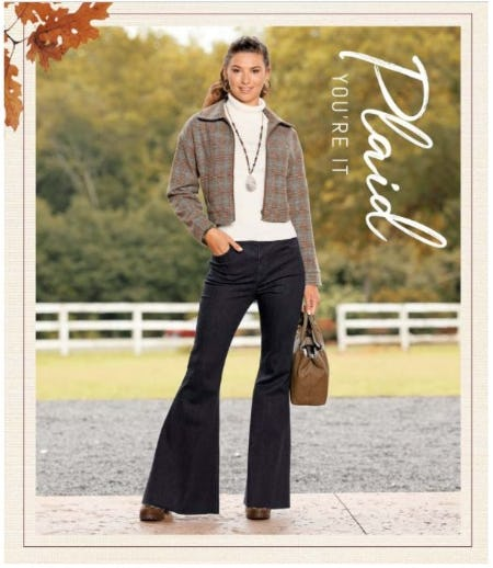 Fall's Favorite: Plaid from Versona