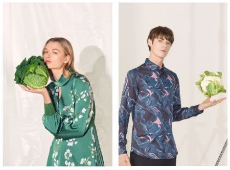 Fresh New Arrivals from Ted Baker London