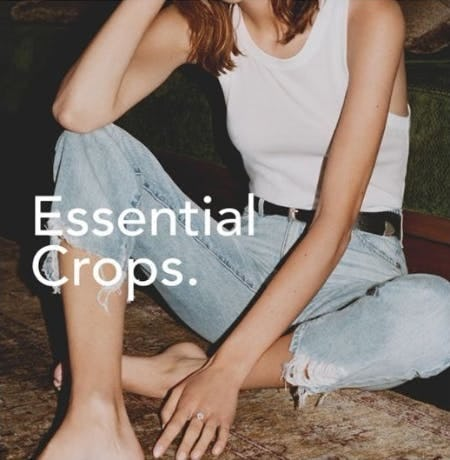 Your Transitional Must Have: Cropped Denim