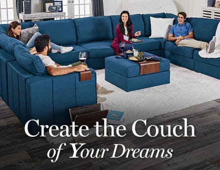 Create The Couch of Your Dreams from Lovesac Designed For Life Furniture Co