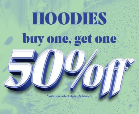 Hoodies: Buy One, Get One 50% Off