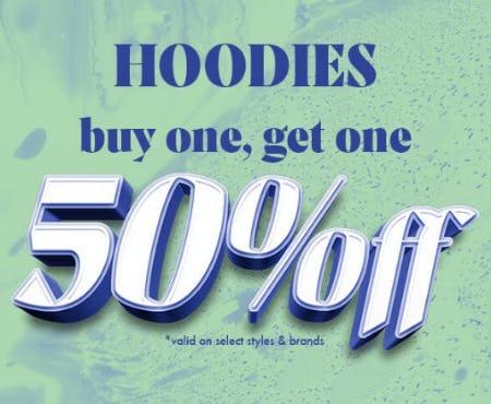 Hoodies: Buy One, Get One 50% Off from Zumiez