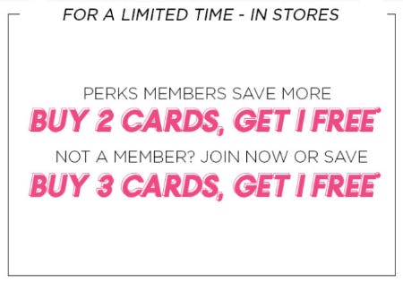 Buy 2 Cards, Get 1 Free from PAPYRUS