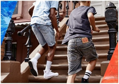 New Shorts Are Here from The Levi's Store