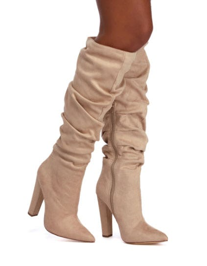 Downtown Swag Slouch Boots from Windsor