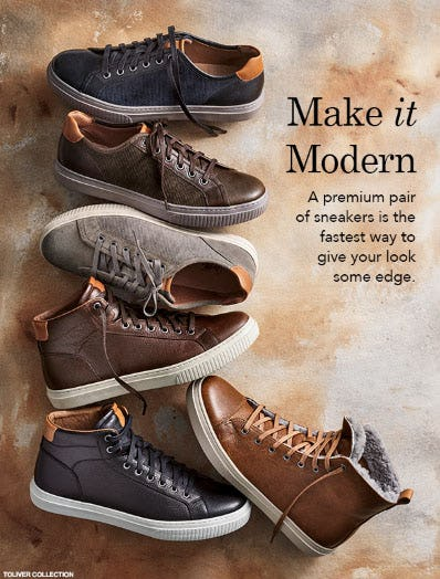Make It Modern from JOHNSTON & MURPHY