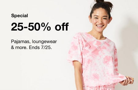 25-50% Off Pajamas, Loungewear and More from macy's