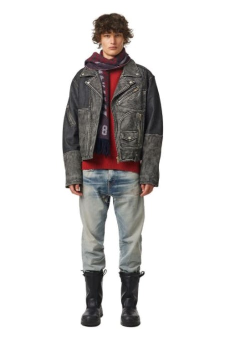 The Leather Selection: Unique Pieces with Attitude from Diesel