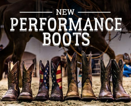 Our Newest Collection of Performance Boots from Boot Barn Western And Work Wear