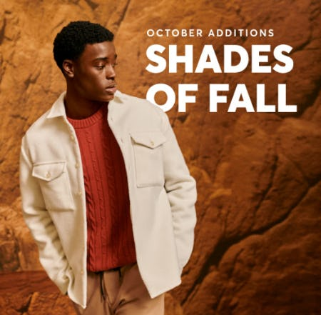 Warm Tones for Cooler Weather from Boss