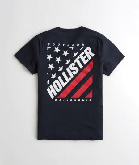 Americana Graphic Tee from Hollister Co.