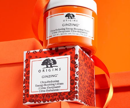 New Limited Edition GinZing Ultra-Hydrating Moisturizer from Origins