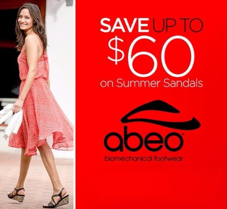 Save up to $60 on Summer Sandals