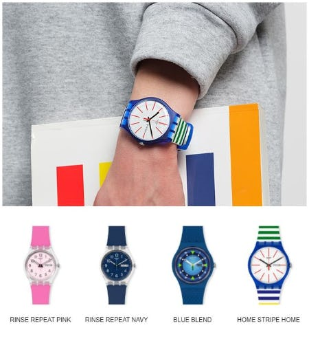 April's True Colors from Swatch