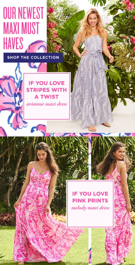 Our Newest Maxi Must Haves Collection from Lilly Pulitzer