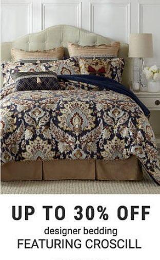 Up to 30% Off Designer Bedding from Belk
