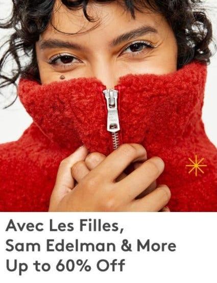 Up to 60% Off Avec Les Filles, Sam Edelman & More from Nordstrom Rack