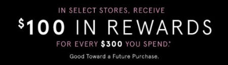 Receive $100 in Rewards