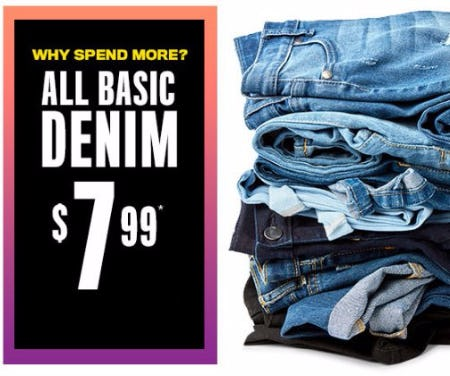 All Basic Denim 799