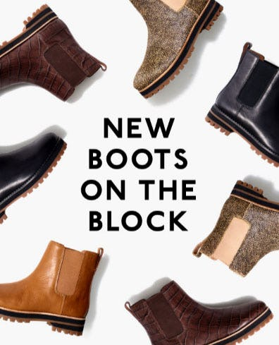 New Boots on the Block from Madewell