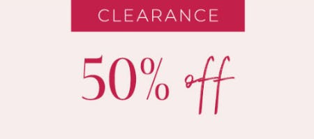 Clearance 50% Off from Lane Bryant
