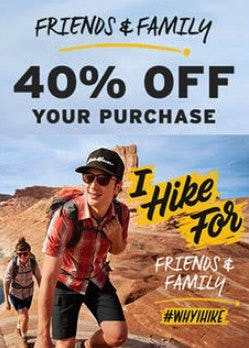 Friends & Family Sale from Eddie Bauer