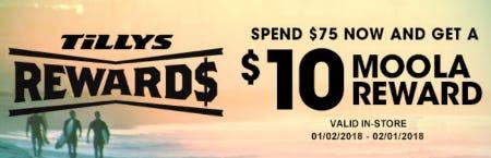 $10 Moola Reward