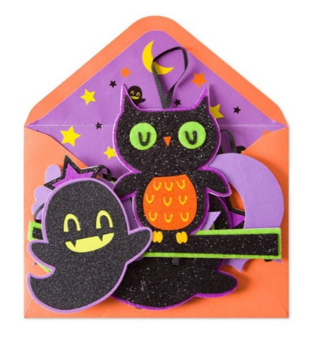 Halloween Character Mobile Card from PAPYRUS