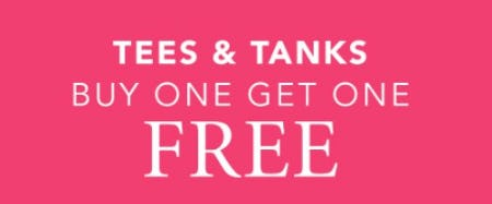 Tees & Tanks BOGO Free from Cacique