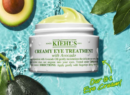 Creamy Eye Treatment with Avocado from Kiehl's